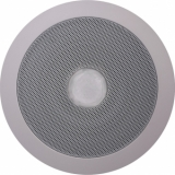 CSE55 - Ceiling speaker with integrated RED led unit (24V) - 100 Volt - 10 Watt RMS / 6 Watt transformer