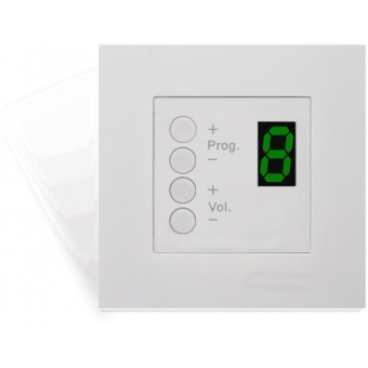 DW3018 - Wall Panel Controller (45 x 45 mm) - WHITE VERSION