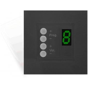 DW3018 - Wall Panel Controller (45 x 45 mm) - BLACK VERSION