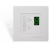 DW3020/W - Wall panel controller 45 x 45 mm - White version