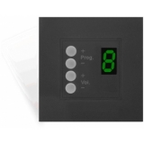 DW4018/B - Wall Panel Controller 8 Zonesfor Bticino Standard - Black