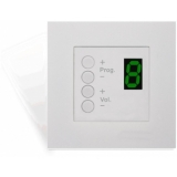 DW4018/W - Wall Panel Controller 8 Zonesfor Bticino Standard - White
