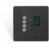 DW4020/B - Wall Panel Controller 8 Zonesfor Bticino Standard - Black