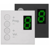 DW4020/W - Wall Panel Controller 8 Zonesfor Bticino Standard - White