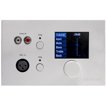 DW5066/W - Digital All-in-one Wall Panel For R2 & M2 - White
