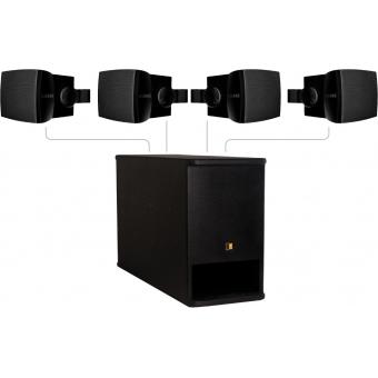 FESTA 400 - Small Foreground Set 4X Wx502/B + SX408A - Black - Black version