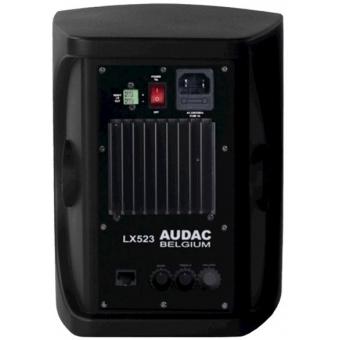 "LX523/B - 3-way Active Speaker System+remote Input 5"" - 2x40w-black"