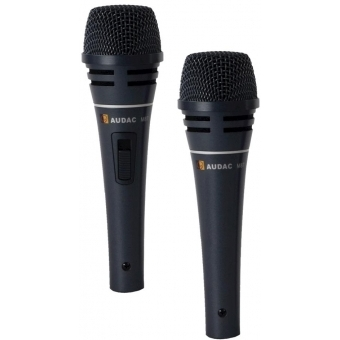 M87 - Professional Dynamic Handheldmicrophone + Switch