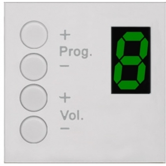 MWX43/W - Mtx & Amp/rm523 Wall Panel Controller - Bticino - White #2