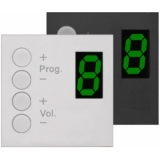 MWX43 - Wall Panel Controller (bTicino Livinglight) - BLACK VERSION