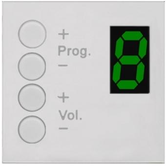 MWX45/W - Mtx & Amp/rm523 Wall Panel Controller - 45x45 - White