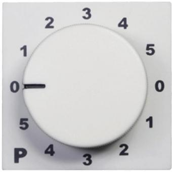 PC3000/W - 100v Program Selector- 45x45 - White