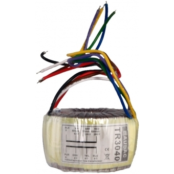 TR3040 - Toroidal audio line transformer - 40 Watt #3
