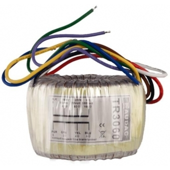 TR3060 - Toroidal Audio Line Transformer 100v 60w