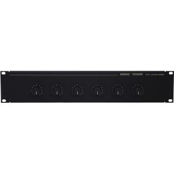 VC2200 - Sixfold 100 Volt volume controller
