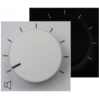 VC3008 - SX408A volume controller 45 * 45 - WHITE VERSION