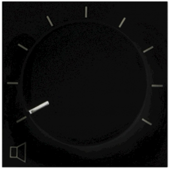 VC3036/B - Volume Control 36w 100v - For45x45 - Black