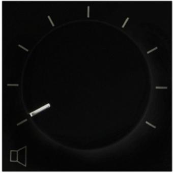 VC4036/B - Volume Control 36w 100v - Forbticino Standard - Black #2