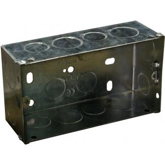 WB5065/FS - Flush Mount Box For Audac Wallpanel - Solid Wall