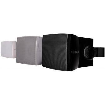 "WX302/S - Wall Speaker 3"" 2-way 30w Rms8 Ohm/100v Incl.bracket-silver"
