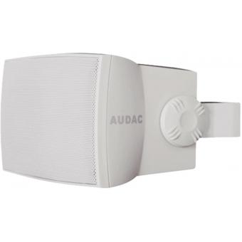 """WX302/W - Wall Speaker 3"""" 2-way 30w Rms8 Ohm/100v Incl.bracket-white"""