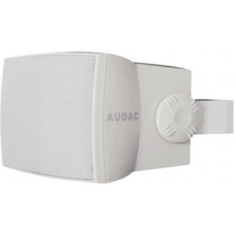 """WX502/W - Wall Speaker 5"""" 2-way 50w Rms8 Ohm/100v Incl. Bracket-white"""