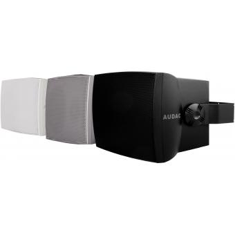 "WX802/S - Wall Speaker 8"" 2-way 70w Rms16 Ohm/100v Incl.bracket-silve"