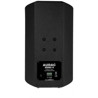"XENO6/B - Full Range Loudspeaker Cabinet - 2way - 6"" - 80w - Black"