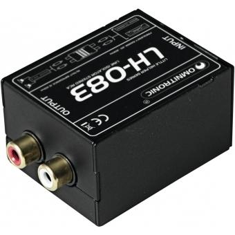 OMNITRONIC LH-083 Stereo Isolator RCA S #2