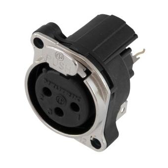 NEUTRIK XLR mounting socket 3pin NC3FBV1 #2