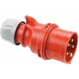 PC ELECTRIC CEE Plug 32A 5pin rd