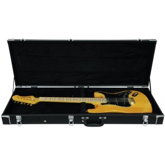DIMAVERY Wooden Case for E-Guitar, rectangular #3