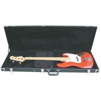 DIMAVERY Wooden Case for E-Bass, rectangular #3