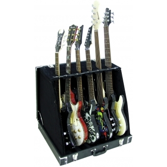 DIMAVERY Stand Case for 6 Guitars #3