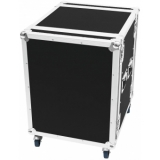 ROADINGER Amplifier Rack PR-2, 14U, 47cm with wheels