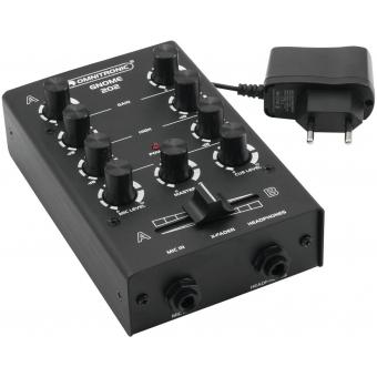 OMNITRONIC GNOME-202 Mini Mixer black #2