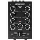 OMNITRONIC GNOME-202 Mini Mixer black