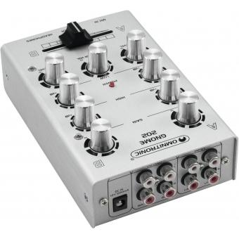 OMNITRONIC GNOME-202 Mini Mixer silver #3