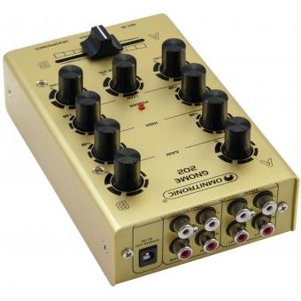 OMNITRONIC GNOME-202 Mini Mixer gold #3