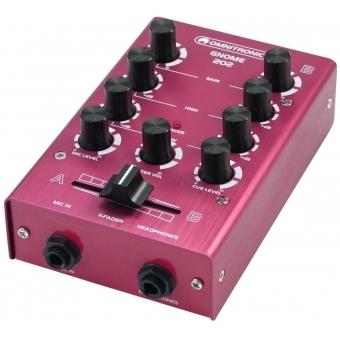 OMNITRONIC GNOME-202 Mini Mixer red #6