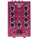 OMNITRONIC GNOME-202 Mini Mixer red