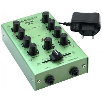 OMNITRONIC GNOME-202 Mini Mixer green #2