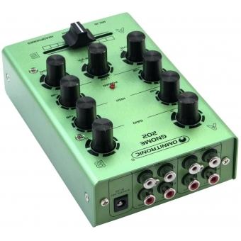 OMNITRONIC GNOME-202 Mini Mixer green #3