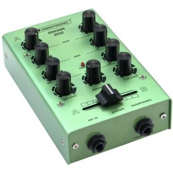 OMNITRONIC GNOME-202 Mini Mixer green #4
