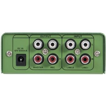 OMNITRONIC GNOME-202 Mini Mixer green #5