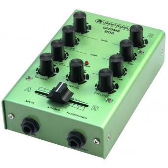 OMNITRONIC GNOME-202 Mini Mixer green #6