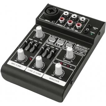 OMNITRONIC MRS-502USB Recording Mixer #2