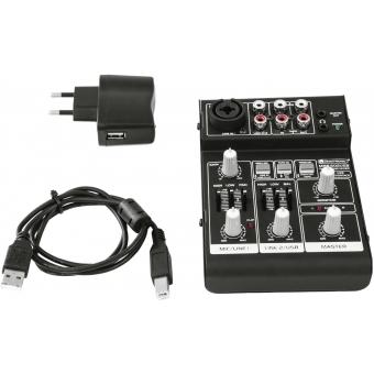 OMNITRONIC MRS-502USB Recording Mixer #4