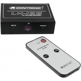 OMNITRONIC LH-125 IR Volume Controller #4