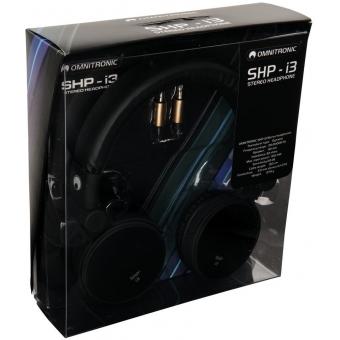 OMNITRONIC SHP-i3 Stereo Headphones black #4